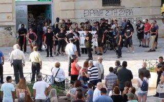 chania-epeisodia-me-antiexoysiastes-se-sygkentrosi-gia-ti-makedonia-video-2254556