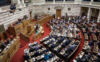 Η ψήφος εμπιστοσύνης προς την κυβέρνηση μεταφράζεται σε άτυπη ψήφο υπέρ της συμφωνίας.