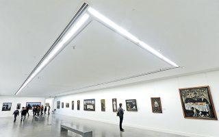Στην Εθνική Πινακοθήκη θα δείτε έργα μεγάλων Γεωργιανών εικαστικών, όπως ο Niko Pirosmani.