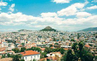 Αποψη από το κέντρο της Αθήνας, όπου αναπτύσσεται ραγδαία η αγορά των βραχυχρόνιων μισθώσεων (Airbnb, HomeAway κ.ά.). Η ζήτηση που υπάρχει αφορά κυρίως στεγαστικά δάνεια για την αγορά κατοικίας, ενώ αυξητική είναι και η ζήτηση για επισκευαστικά δάνεια, που αποτελούν το 20%-25% των νέων εκταμιεύσεων.