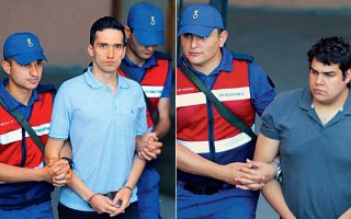 Ο ανθυπολοχαγός Αγγελος Μητρετώδης και ο λοχίας Δημήτρης Κούκλατζης συμπληρώνουν 127 ημέρες κράτησης στις φυλακές της Αδριανούπολης.