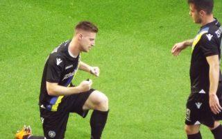 Ο Γιώργος Κυριακόπουλος σκόραρε και τα δύο γκολ του Αστέρα κόντρα στη Χιμπέρνιαν, στην ήττα με 3-2.