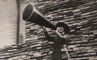 Εκστρατεία συγκέντρωσης βιβλίων για τους στρατιώτες (1919).