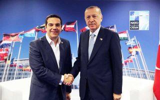 Οι κ. Αλέξης Τσίπρας και Ταγίπ Ερντογάν συζήτησαν για την αντιμετώπιση των προσφυγικών - μεταναστευτικών ροών.