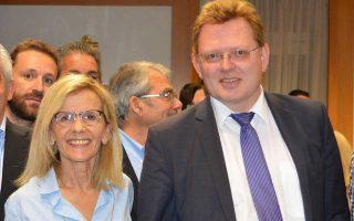 Ο δήμαρχος της Altena, Andreas Hollstein, επισκέφθηκε την ομόλογό του στη Λιβαδειά, κ. Γιώτα Πούλου, με την οποία τον ενώνει η κοινή στάση απέναντι στο προσφυγικό ζήτημα.