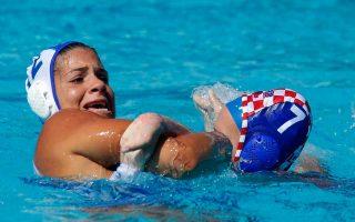 Με την εύκολη νίκη κόντρα στην Κροατία, η εθνική γυναικών έφθασε τις τρεις νίκες σε ισάριθμα παιχνίδια, στον όμιλο του ευρωπαϊκού πρωταθλήματος που διεξάγεται στη Βαρκελώνη.