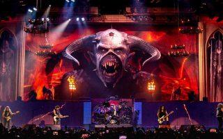 Ο Εντι, η μασκότ των Iron Maiden, πρωταγωνιστεί στην περιοδεία τους και δεν έχει λείψει από καμία συναυλία τους εδώ και 35 χρόνια.