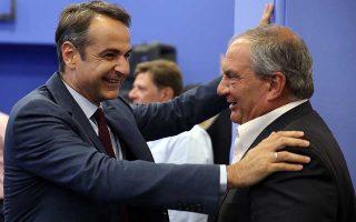 Ο πρόεδρος της Ν.Δ. Κυρ. Μητσοτάκης χαρακτήρισε τον Β. Μεϊμαράκη «άνθρωπο που υπηρέτησε με αυταπάρνηση την παράταξη από όποια θέση και να του ζητήθηκε».
