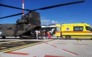 Το πτητικό έργο του ΕΚΑΒ έχει αναλάβει, από το 2003, η Πολεμική Αεροπορία.