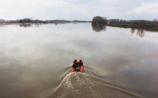 Μέχρι αργά χθες συνεχίζονταν οι αναζητήσεις των τεσσάρων αγνοουμένων στον ποταμό Εβρο.