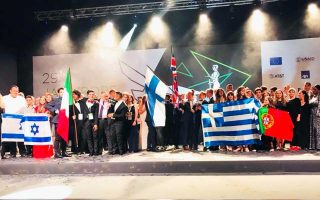 Οι εννέα νικήτριες ομάδες στον διαγωνισμό «Company Of The Year Competition 2018», που έλαβε χώρα στο Βελιγράδι.