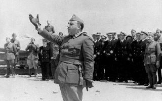 Ο στρατηγός Φρανθίσκο Φράνκο ετάφη το 1975 στο μεγαλοπρεπές μνημείο της «Κοιλάδας των Πεσό-ντων», στα περίχωρα της Μαδρίτης.