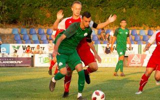 Με το ευρύ 5-0 επικράτησε ο Παναθηναϊκός της ερασιτεχνικής Χους στην Ολλανδία.