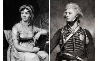 Η Οστιν και ο πρίγκιπας, που αγόρασε έναντι 15 σελινίων –στην κανονική τιμή του για την εποχή– το «Λογική και ευαισθησία».