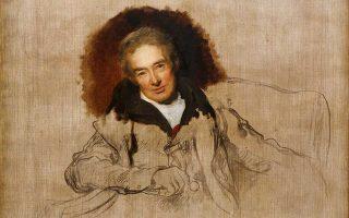 To ημιτελές πορτρέτο του Ουίλιαμ Ουίλμπερφορς, επικεφαλής της εκστρατείας για την κατάργηση της δουλείας στη Βρετανία.