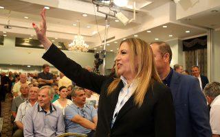 Με τις δημόσιες παρεμβάσεις της η Φώφη Γεννηματά εμπεδώνει την αυτόνομη πορεία του ΚΙΝΑΛ.