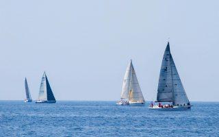 Στο τελευταίο κομμάτι της διαδρομής, σήμερα, τα σκάφη θα πάρουν εκκίνηση από την Πάρο με προορισμό το Σούνιο.
