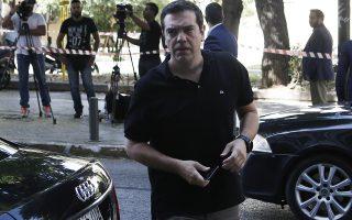Ο πρωθυπουργός Αλέξης Τσίπρας προσέρχεται για να συμμετάσχει στην συνεδρίαση του πολιτικού συμβουλίου του ΣΥΡΙΖΑ, στα γραφεία του κόμματος, Αθήνα Τρίτη 17 Ιουλίου 2018. ΑΠΕ-ΜΠΕ/ΑΠΕ-ΜΠΕ/ΓΙΑΝΝΗΣ ΚΟΛΕΣΙΔΗΣ
