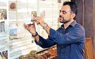 Ο Μανούσος Πεδιαδίτης είναι λάτρης της παράδοσης και των πρώτων υλών της Κρήτης. (Φωτογραφία: ΝΙΚΟΣ ΚΟΚΚΑΣ)