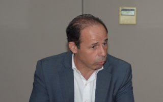 (Ξένη Δημοσίευση) Ο υπουργός Άμυνας Πάνος Καμμένος συναντήθηκε με τον δήμαρχο Ραφήνας-Πικερμίου, Ευάγγελο Μπουρνούς, Πέμπτη 26 Ιουλίου 2018. ΑΠΕ-ΜΠΕ/ΓΡΑΦΕΙΟ ΤΥΠΟΥ ΥΠΕΘΑ/STR