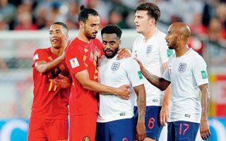 Στις 28 Ιουνίου οι δύο ομάδες έπαιξαν για την πρωτιά στον όμιλό τους. Το Βέλγιο είχε επικρατήσει με 1-0, ενώ δεν ήταν λίγοι αυτοί που είχαν επικρίνει την Αγγλία για... παθητικό ρόλο στο ματς, προκειμένου να κατακτήσει την «ευνοϊκότερη» δεύτερη θέση.