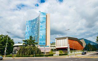 Η έδρα του WIPO στη Γενεύη. Με μέλη 191 κράτη του ΟΗΕ, κατέστη το κατεξοχήν διεθνές φόρουμ συνεργασίας και υιοθέτησης σχετικών διεθνών συμβάσεων.