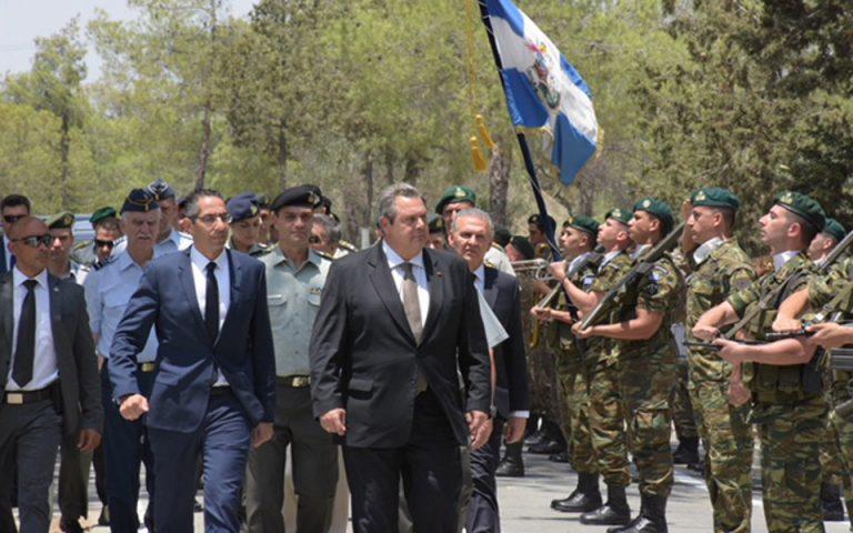 Π. Καμμένος: «Αναπόσπαστο μέρος του εθνικού μας κορμού η Κύπρος»