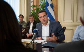 Ο κ. Τσίπρας τόνισε ότι πρέπει να καταρτιστεί ένα εθνικό σχέδιο, το οποίο θα αντιμετωπίζει, όπως είπε, «τις οικιστικές στρεβλώσεις δεκαετιών».
