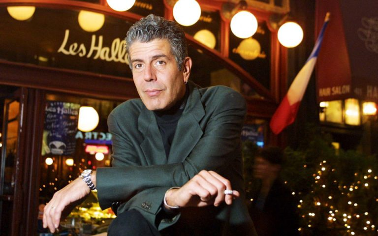 Τρώγοντας στο Les Halles με σεφ τον Άντονι Μπουρντέν
