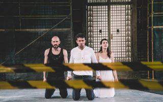 Αποκλεισμένοι στα αδιέξοδα των επιλογών τους θα βρεθούν οι Δημήτρης Μορφακίδης, Χρίστος Στυλιανού και Ιωάννα Κολλιοπούλου στο έργο του Ευριπίδη.