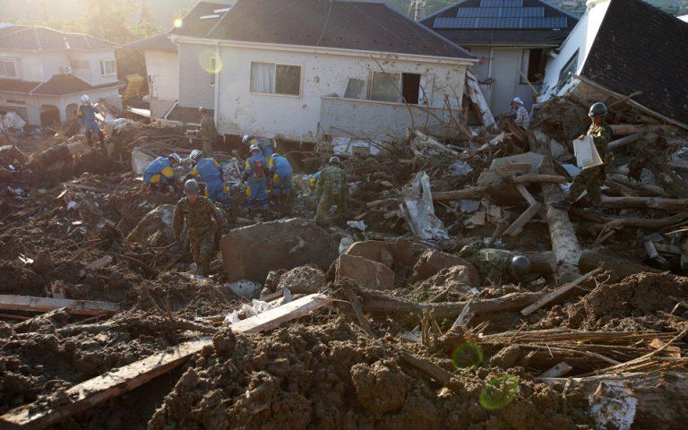 Στους 199 οι νεκροί από τις πλημμύρες στην Ιαπωνία