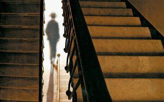 Φωτογραφία της Μαρίας Στεφώση από την έκθεση «Αβέβαιες μνήμες - Κ. Π. Καβάφης».
