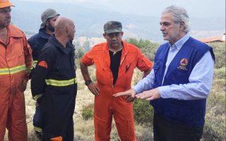 «Εκφράζω τον μεγάλο θαυμασμό μου προς όλους τους πυροσβέστες αλλά και τους απλούς πολίτες, που έτρεξαν να σώσουν τους συνανθρώπους τους», λέει στην «Κ» ο κ. Χρήστος Στυλιανίδης, ο οποίος ανέβασε στο Τwitter φωτογραφίες με τους πυροσβέστες στις καμένες περιοχές.