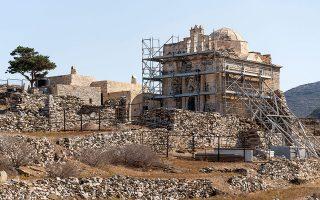 Το ξωκκλήσι της Επισκοπής κτίστηκε ως ρωμαϊκό ναόμορφο μαυσωλείο τον 3ο αιώνα μ.Χ. και μετατράπηκε σε τρουλαία βυζαντινή εκκλησία.