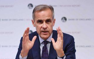 Ο Μαρκ Κάρνεϊ, επικεφαλής της Τράπεζας της Αγγλίας, επισήμανε ότι το Δ.Σ. δεν θα βιαστεί να ακριβύνει περαιτέρω το κόστος δανεισμού στη βρετανική οικονομία πριν από το Brexit.