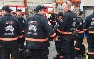 Η ομάδα είχε παράσχει βοήθεια στις ιαπωνικές αρχές μετά τον καταστροφικό σεισμό του 2011.