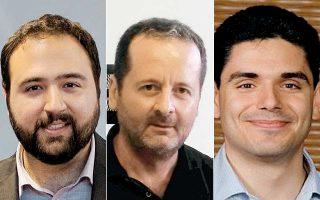 Βαγγέλης Παπαλεξάκης, Αθανάσιος Λιάβας και Σπύρος Μπλάνας, οι τρεις πανεπιστημιακοί μιλούν στην «Κ» για το πώς μπορεί να σταματήσει η «διαρροή» επιστημόνων στο εξωτερικό.