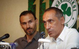 Ετοιμοι να ανταποκριθούν στις ιδιαίτερες απαιτήσεις της ομάδας εμφανίστηκαν οι Γιώργος Δώνης (δεξιά) και Νίκος Νταμπίζας.