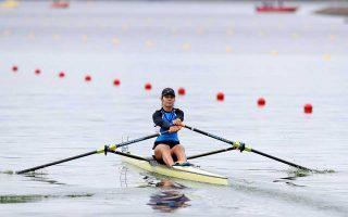 Για ακόμη μία φορά η Κατερίνα Νικολαΐδου έδειξε ότι δίκαια συγκαταλέγεται στις κορυφαίες αθλήτριες της κωπηλασίας στον κόσμο.