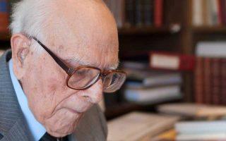 Εμμανουήλ Κριαράς (1906 - 2014).