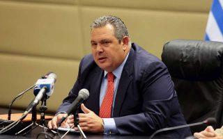 «Αυτό που έγινε στην ενημέρωση του πρωθυπουργού, που μπήκε κάμερα, πρέπει να διερευνηθεί», είπε ο Π. Καμμένος.