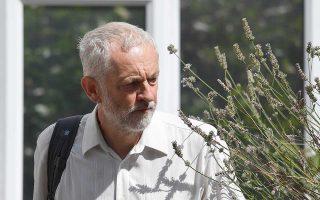 Ο επικεφαλής του Βρετανικού Εργατικού Κόμματος, Τζέρεμι Κόρμπιν.