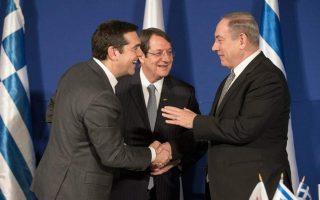 Στιγμιότυπο από παλαιότερη συνάντηση των ηγετών των τριών χωρών.