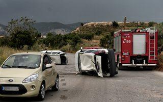 Τα τροχαία δυστυχήματα σημαίνουν για την Ελλάδα μια φονική μεγα-πυρκαγιά σαν αυτή στο Μάτι κάθε 45 ημέρες.