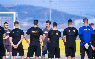 Ο Μαρίνος Ουζουνίδης ζητεί απόλυτη πειθαρχία από τους παίκτες του στο αποψινό κρίσιμο ματς με τη Βίντι στο ΟΑΚΑ.