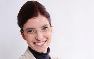 Η Νταϊάν Γκόλτζε, υπουργός Υγείας στο κρατίδιο του Βραδεμβούργου, που παραιτήθηκε χθες.