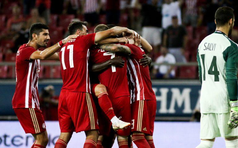 Συνέτριψε με 4-0 τη Λουκέρνη ο Ολυμπιακός