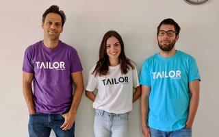 Τρεις από τους οκτώ startuppers που δημιούργησαν την πρωτοποριακή εκπαιδευτική πλατφόρμα στο Διαδίκτυο.