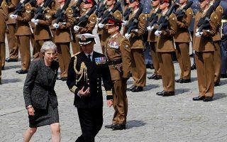 Η Βρετανίδα πρωθυπουργός Τερέζα Μέι. Τα αιτήματα για βίζα απορρίπτονται πολύ συχνότερα απ' ό,τι πριν από μερικά χρόνια.