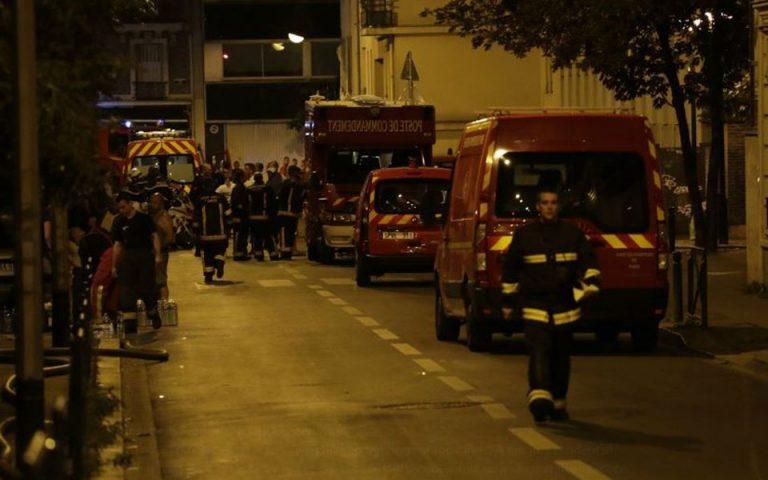 Τουλάχιστον 19 τραυματίες από φωτιά σε κτίριο στο Παρίσι